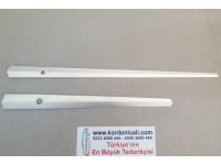 Akrep 16,5 cm Yelkovan 21,5 cm Metal Gümüş 100 Adet